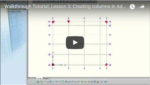 Description Générale, 3ème leçon: Création de poteaux