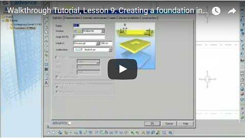 Description Générale, 9ème leçon: Création des fondations
