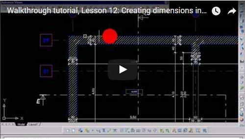Description Générale, 12ème leçon: Création des cotations