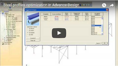 Optimisation des profiles métalliques
