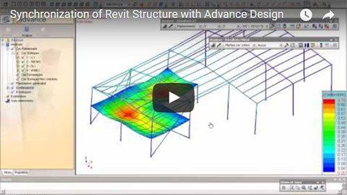Synchronisation de modèles entre Revit Structure et Advance Design