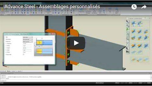 Advance Steel – Assemblages personnalisés