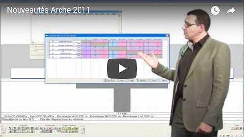 Nouveautés Arche 2011