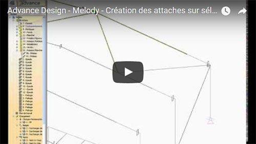Melody Attaches - Création des attaches sur sélection