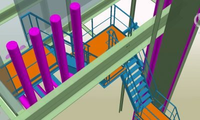 autodesk-advance-steel escaliers