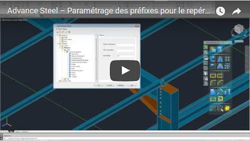 Paramétrage des préfixes pour le repérage automatique
