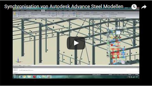 Synchronisation d'un modèle Advance Steel avec Advance Design