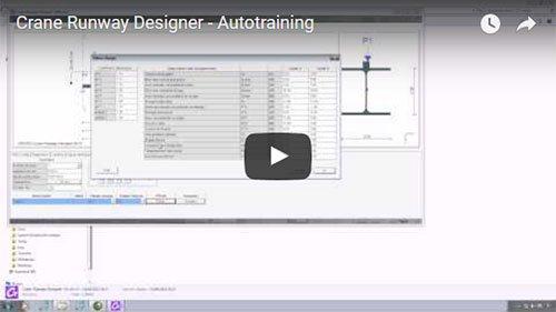 Crane Runway Designer - Autotraining