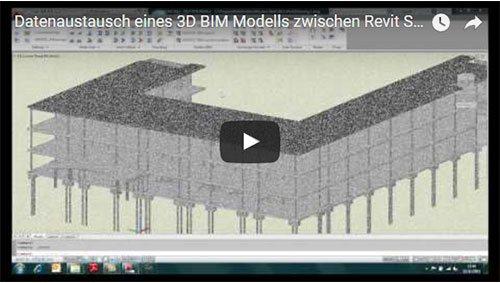 Transfert d'un modèle 3D de REVIT Structure 2012 vers Advance Steel
