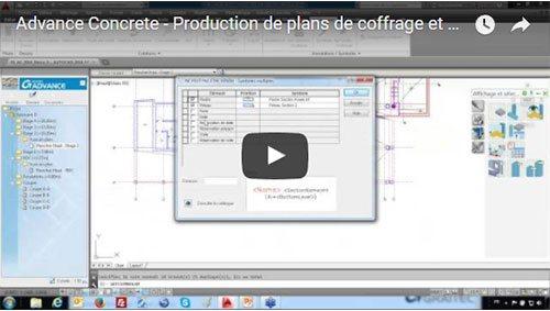 Advance Concrete – Présentation du logiciel