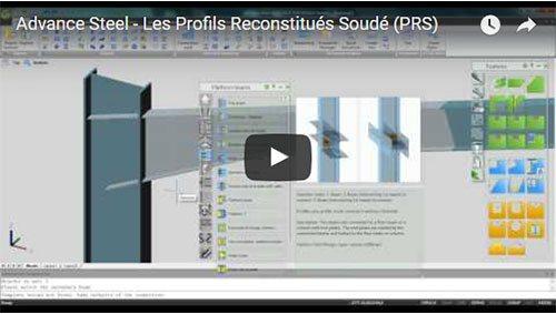 Advance Steel - Les Profils Reconstitués Soudé (PRS)