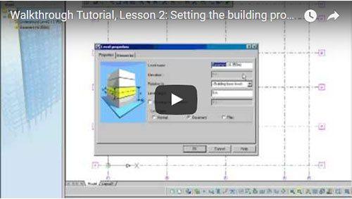 Description Générale, 2ème leçon: Réglages des propriétés du projet