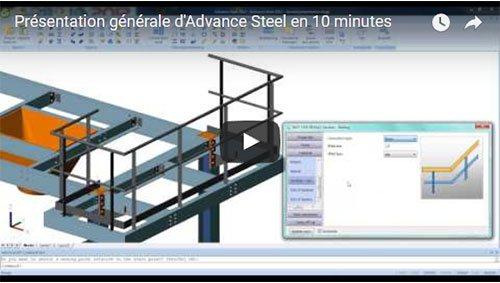 Présentation générale d'Advance Steel en 10 minutes