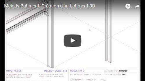 Melody Batiment: Création d'un batiment 3D