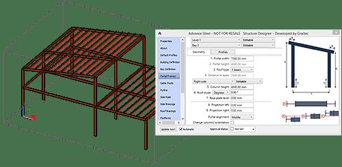 GRAITEC Advance Design | Calcul Métal