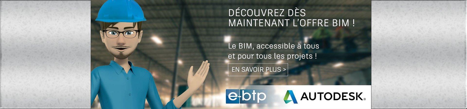 Autodesk offre « BIM e-btp »