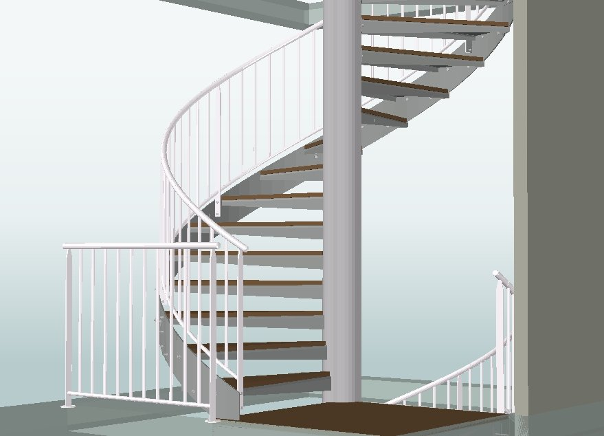 escalier helicoidal graitec france. Black Bedroom Furniture Sets. Home Design Ideas