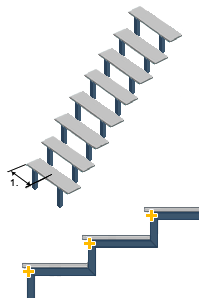 GRAITEC Store Steel Stair Designer pour Advance Steel