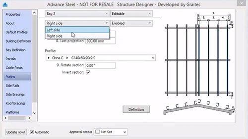 GRAITEC Store Steel Structure Designer pour Advance Steel