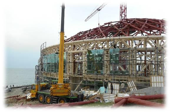 Reconstruction du centre pour enfants de l'ancien théâtre Eaglet