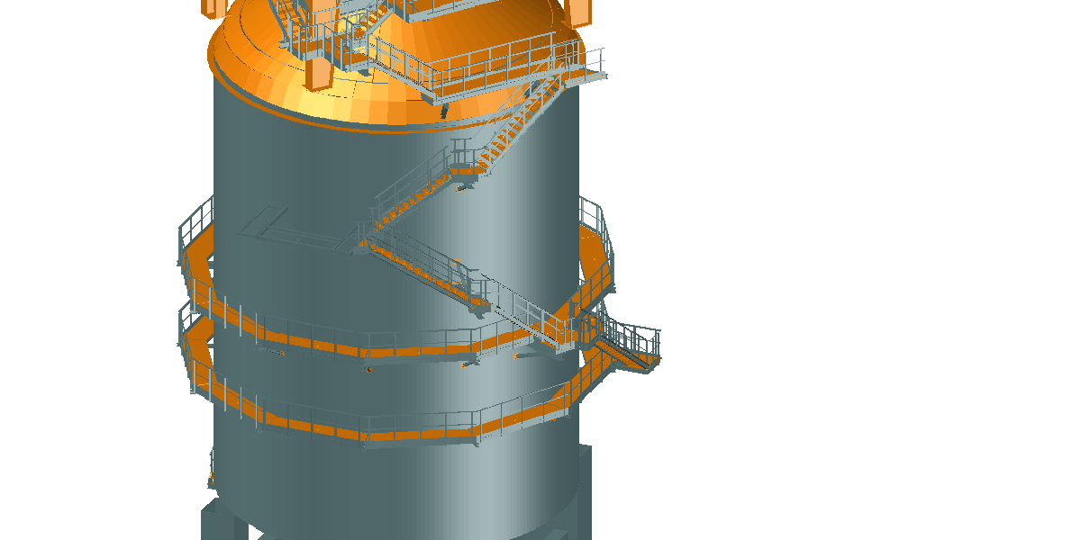 Stairs & Platforms for Arcelor Mittal Steel