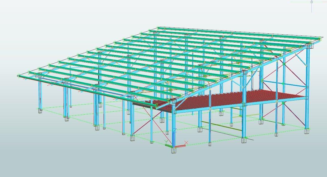 Hangar Industriel Photovoltaique