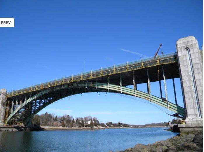 Réhabilitation du pont complexe