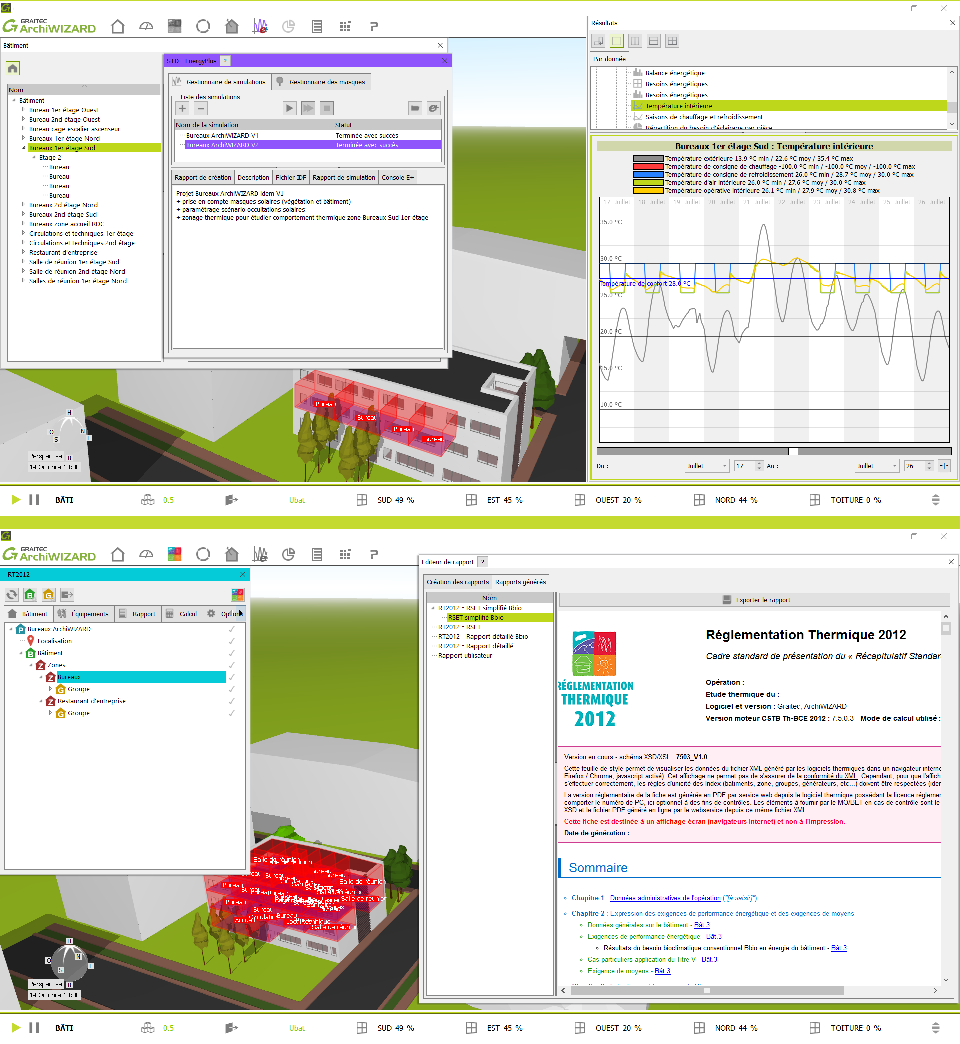 ArchiWIZARD - STD et CALCUL RT2012