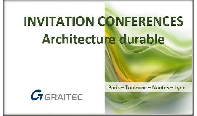PARIS : CONFÉRENCE ARCHITECTURE DURABLE