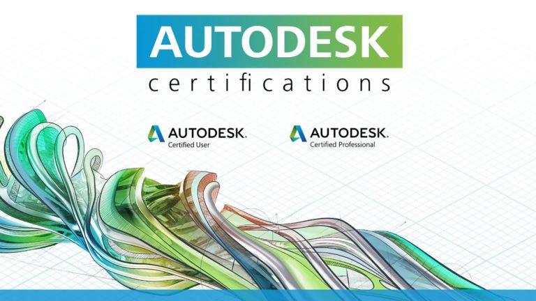 Certifications Autodesk ACU et ACP