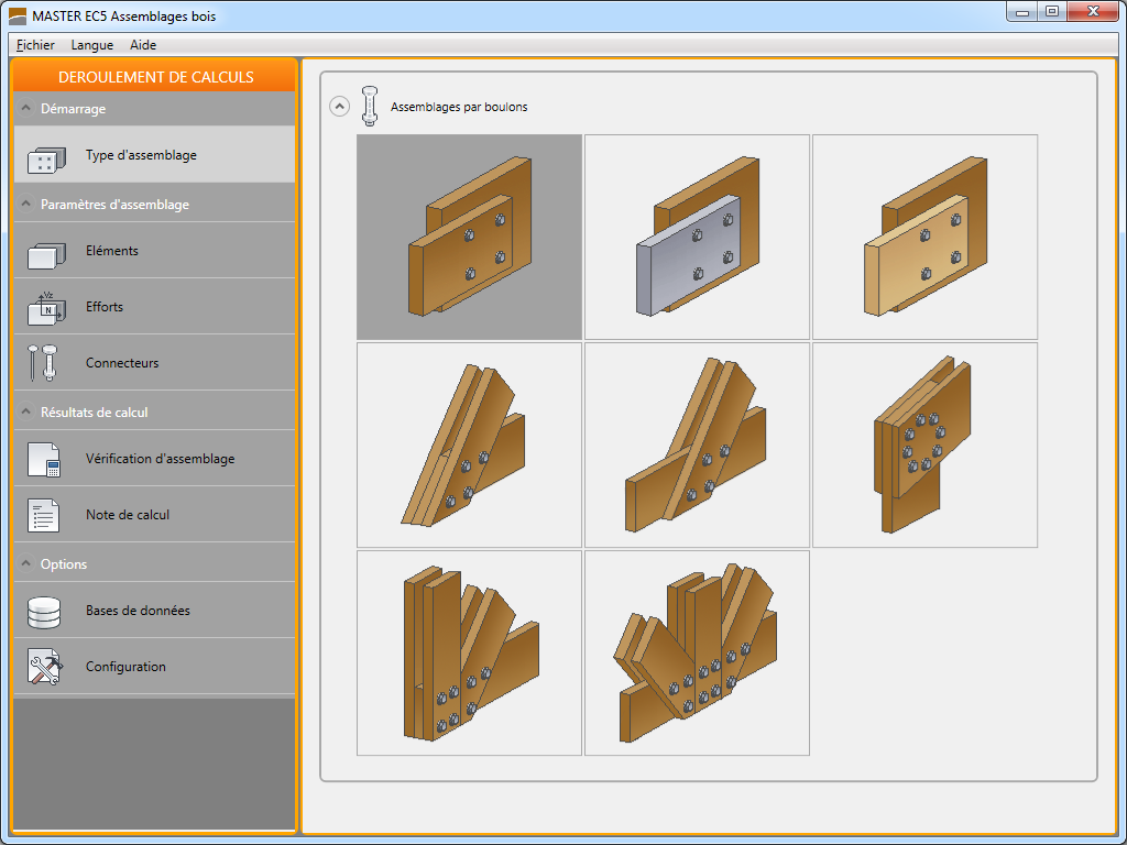 Assemblages bois : types assemblages